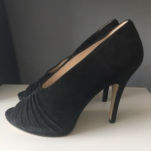 GUC Boutique 9 Black Suede Heels